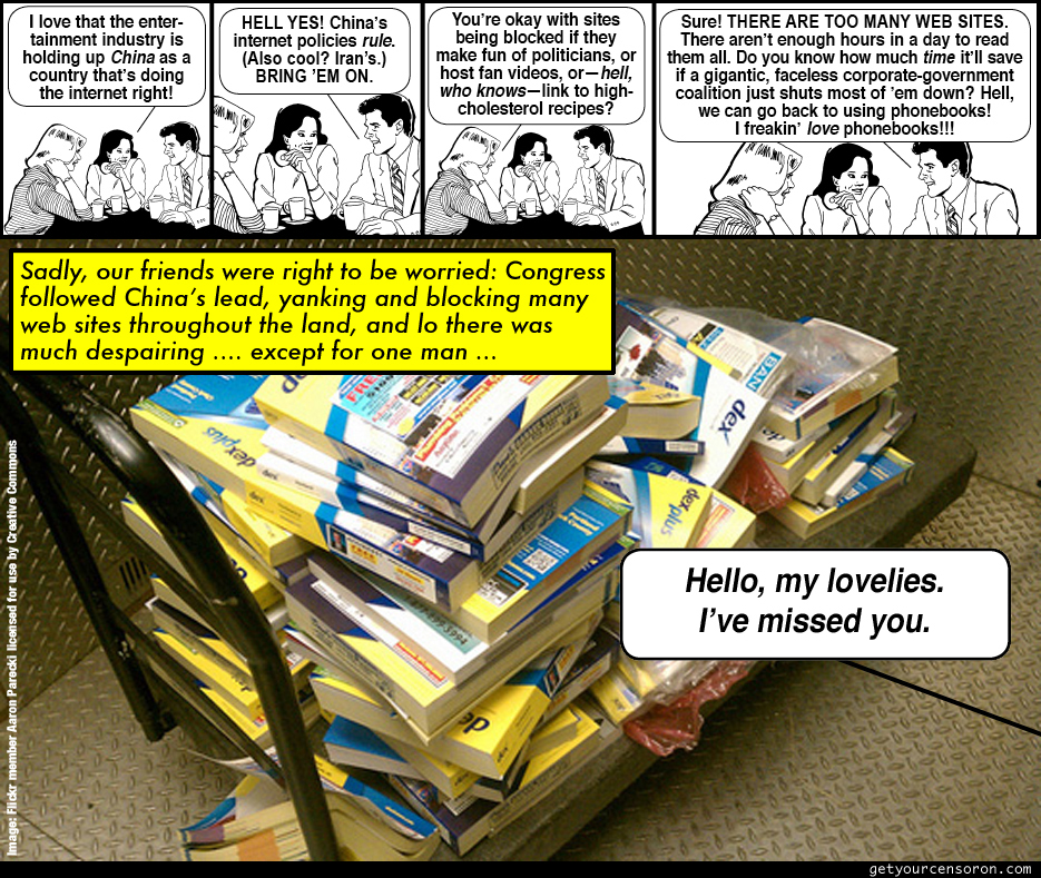 Phonebooks Comic